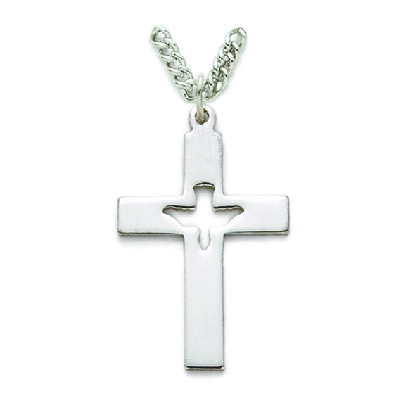 Dove Cut Out Cross