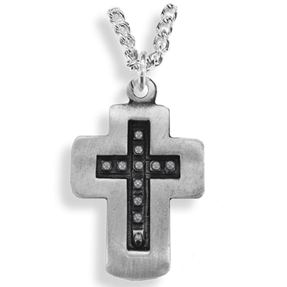 Men's Pewter Cross