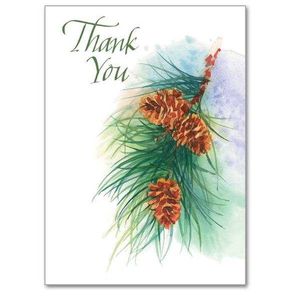 O Christmas Tree Thank You Notes