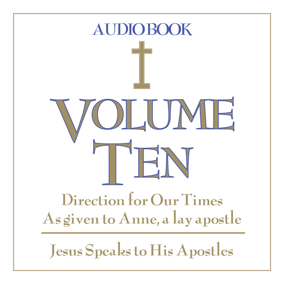 Direction for Our Times Vol. 10 CD: Jesus Speaks to His Apostles