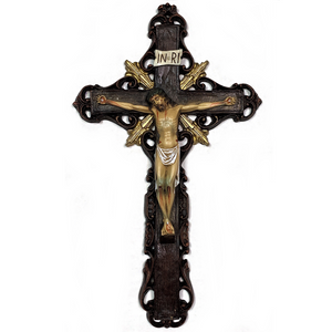 Baroque Crucifix 12""