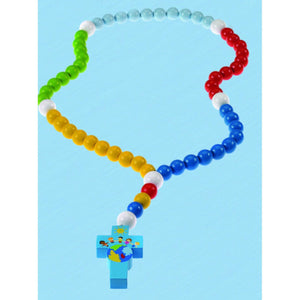 Children of the World Blue Children's Rosary