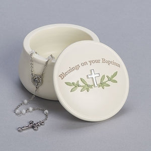 Blessings on Your Baptism Keepsake Box