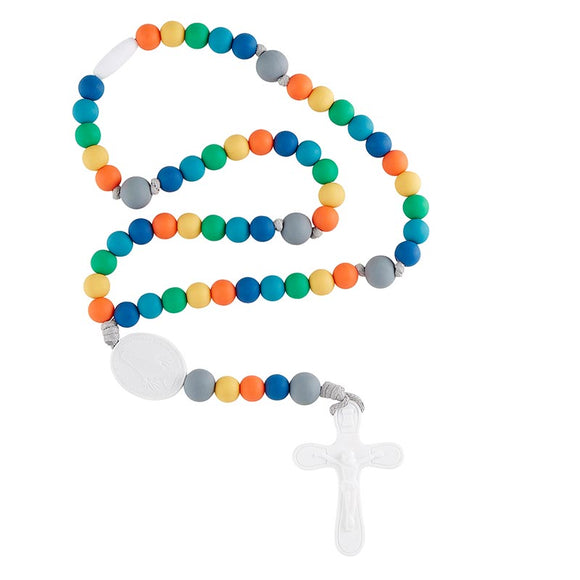 Multi-Color Silicone Rosary