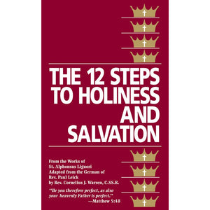 12 Steps to Holiness and Salvation
