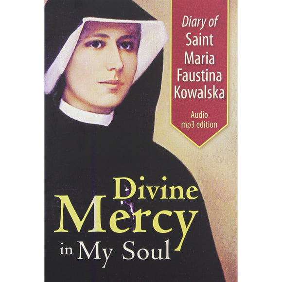 Audio Diary of St. Maria Faustina Kowalska: Complete MP3 CD Set