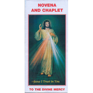 Novena and Chaplet of the Divine Mercy Leaflet