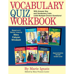 Vocabulary Quiz Workbook