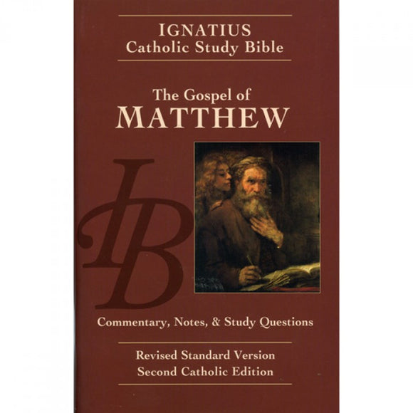 Ignatius Catholic Study Bible: Matthew