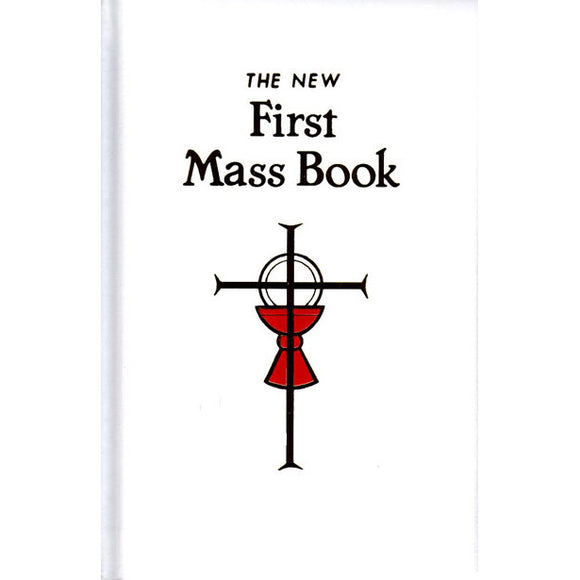 First Mass Book- White