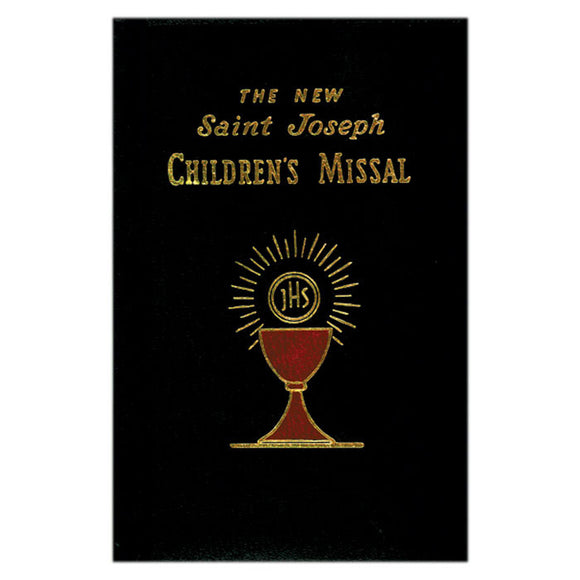 St. Joseph Children's Missal- Black