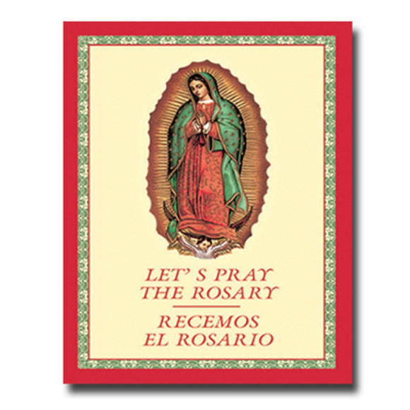Let's Pray the Rosary (Bilingual)