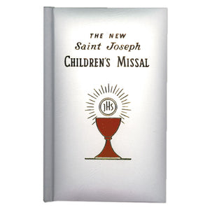 St. Joseph Children's Missal- White