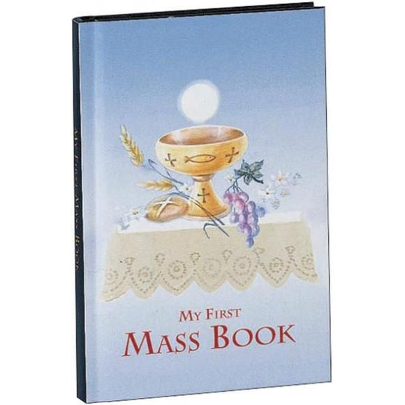 My First Mass Book for Boys: My First Eucharist Edition