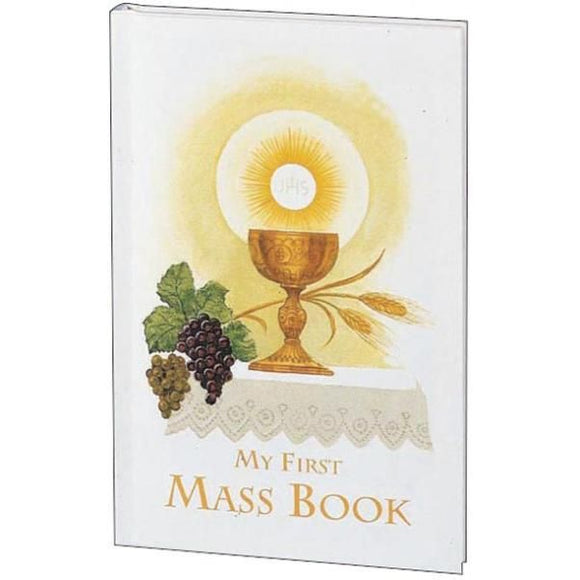 My First Mass Book for Girls:  My First Eucharist Edition