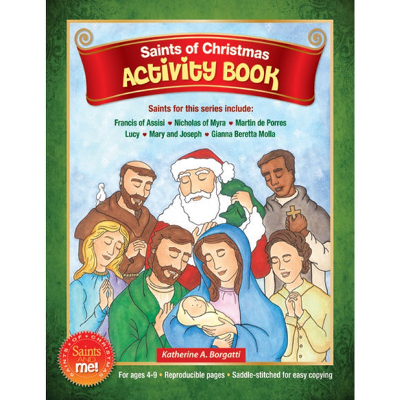 Saints of Christmas Activity Book