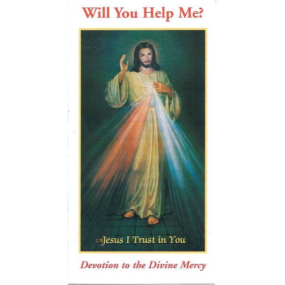Devotion to Divine Mercy Pamphlet