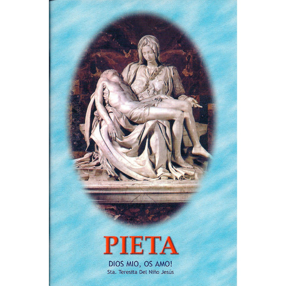 Color Spanish Pieta: Prayers, Novena's, and Devotions Booklet in Spanish