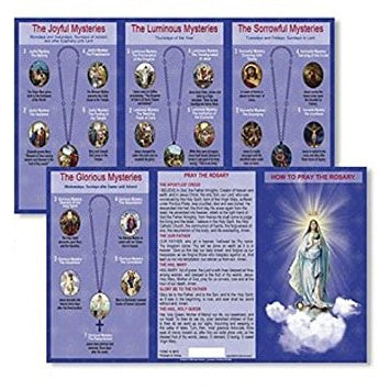 Pray the Rosary Trifold