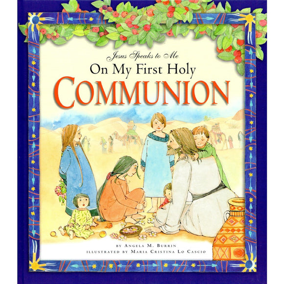 Jesus Speaks to Me on My First Communion