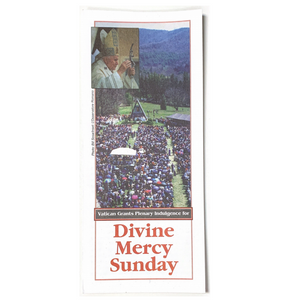 Vatican Grants Plenary Indulgence for Divine Mercy Sunday