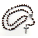 Dark Brown St. Benedict Rosary