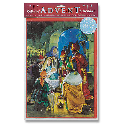 Advent Calendar with Bible Text and Pictures