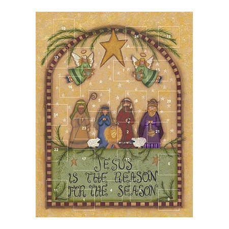 Jesus is the Reason for the Season Advent Calendar