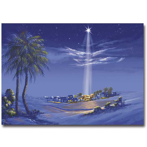 Star Over Bethlehem Christmas Cards