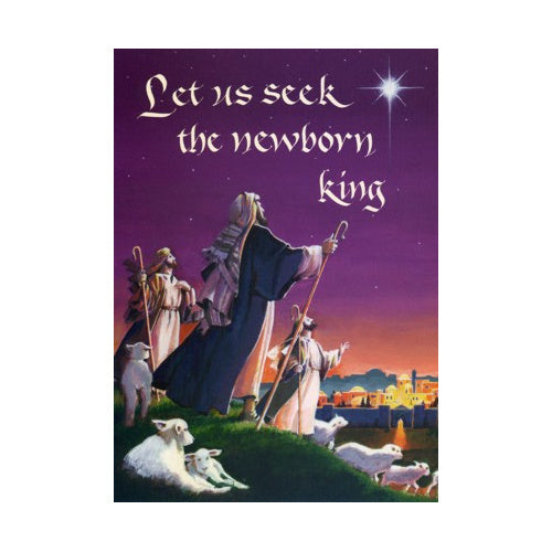 Let Us Seek the Newborn King Christmas Cards