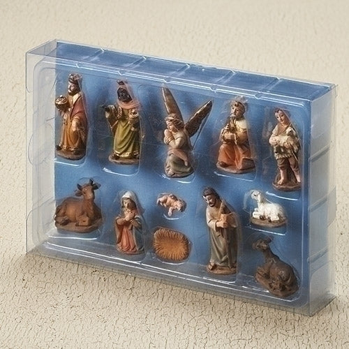 Muted Color Mini Nativity Set