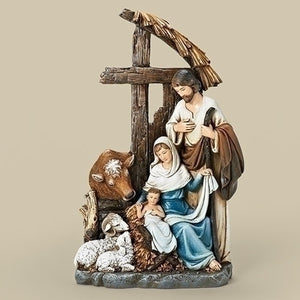 Holy Family in the Stable Figurine