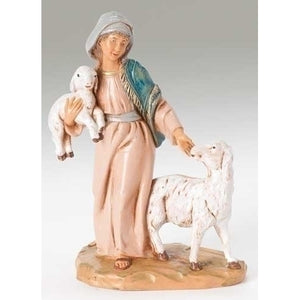 "Fontanini Collection 5"" Shepherdess Rhoda"