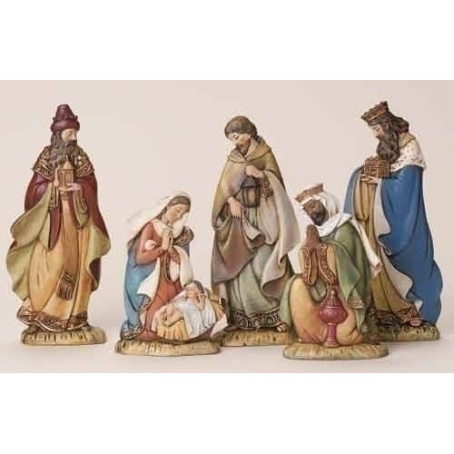 Flat Nativity Set