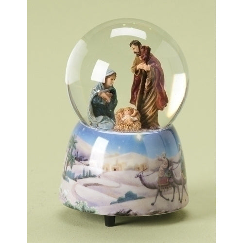 Holy Family Musical Waterglobe