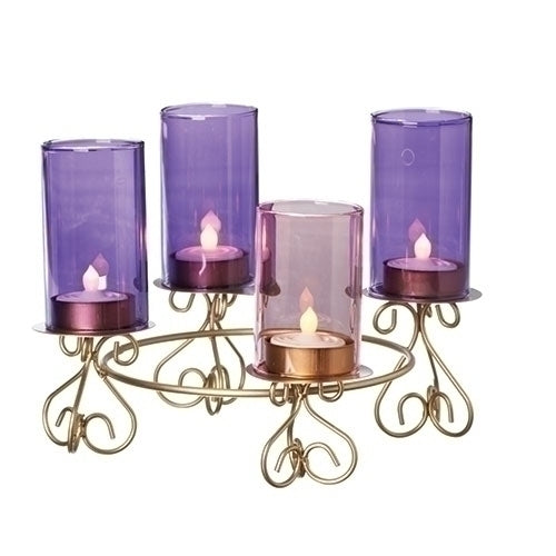 Advent Votive Candle Holder