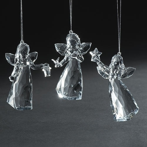 Icicle Angel Ornaments