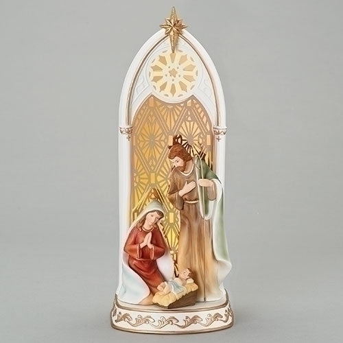 Holy Family with Lighted Arch