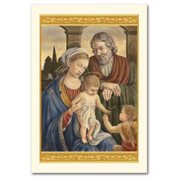 Renaissance Holy Family Christmas Cards