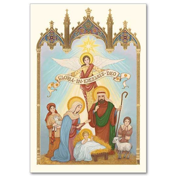 Gloria In Excelsis Deo Christmas Cards