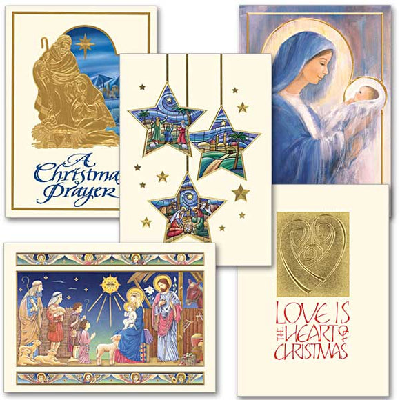 Tidings of Joy Christmas Card Assortment