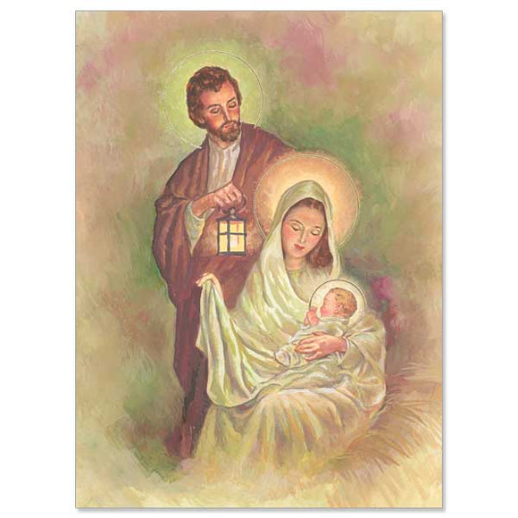 Joseph, Mary and Jesus Christmas Cards