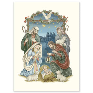 Classic Nativity Christmas Cards