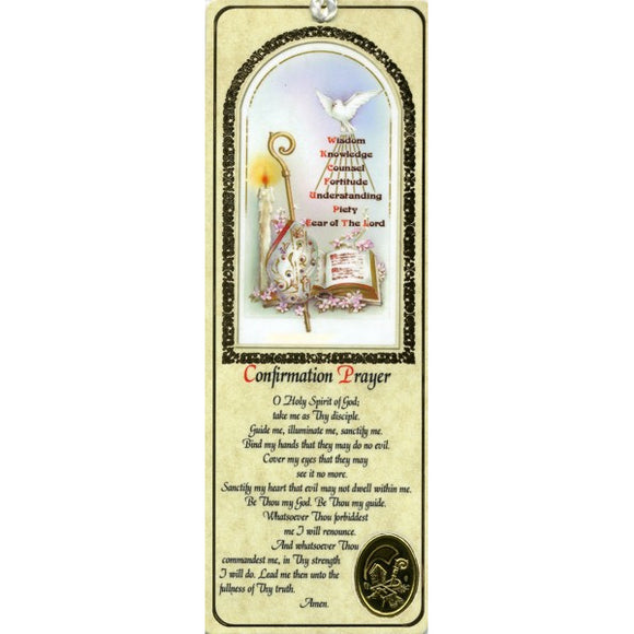 Confirmation Bookmark
