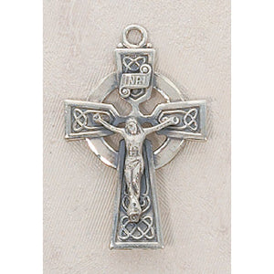 Large Sterling Silver Celtic Cross