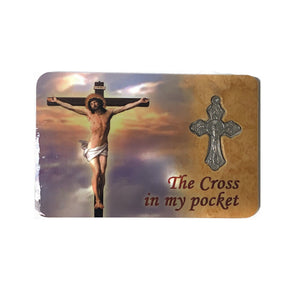 The Cross in My Pocket Prayer Card