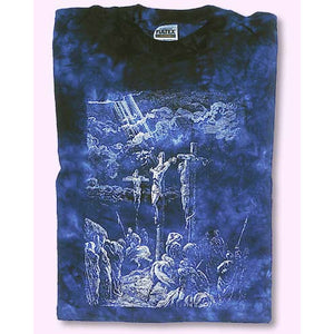 Crucifixion Tie-Dyed T-Shirt