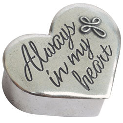 Always in My Heart Trinket Box