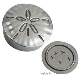 Sand Dollar Trinket Box