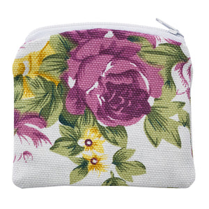 Floral Rosary Pouch